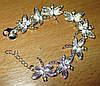 """Нежный серебряный  браслет """"Стрекоза """" от студии LadyStyle.Biz"""