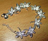 """Нежный серебряный  браслет """"Стрекоза """" от студии LadyStyle.Biz, фото 1"""