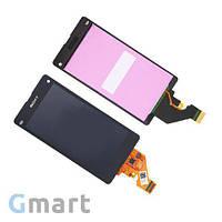 Дисплей Sony Xperia Z1 Compact D5503 черный (LCD экран, тачскрин, стекло в сборе)