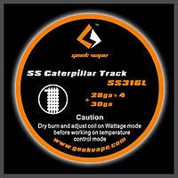 SS316 Caterpillar Coil GeekVape (4*0.32X0,25), фото 1