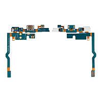 Порт зарядки и синхронизации LG P760 Optimus L9 со шлейфом и микрофоном