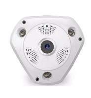 WI-FI IP-камера DL-T9 (панорамная, 1.0MP - 1280*720P,  инфракрасное ночное видение, поддержка TF карты памяти)