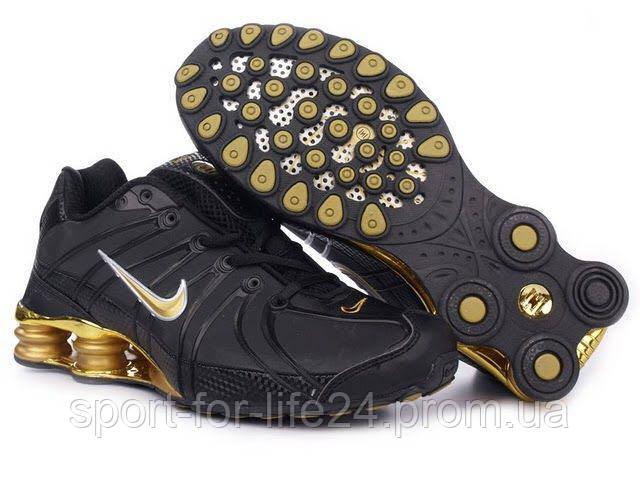 c3d4e539a192 Универсальные мужские кроссовки Nike Air Max Shox OZ TPU Black реплика -  Sport for Life в