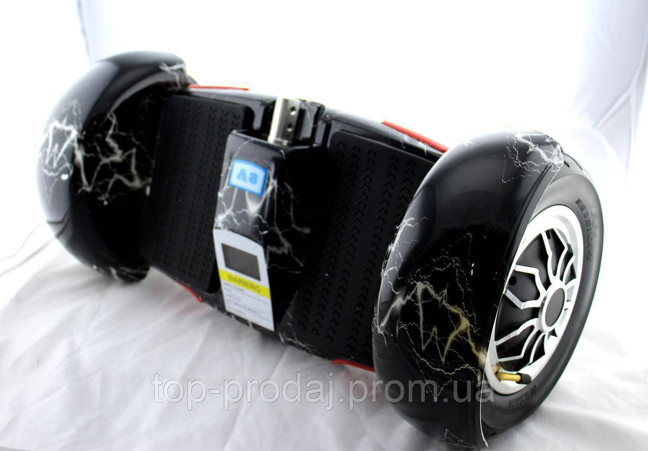 "Гироскутер F1 10"" BT SD серый\черный\мраморный, Гироборд, Сигвей, Гироскутер с Bluetooth"