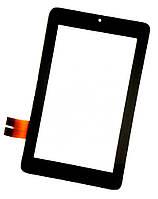 Оригинальный сенсорный экран Asus MeMO Pad ME172V черный (тачскрин, стекло в сборе), Оригінальний сенсорний екран Asus MeMO Pad ME172V чорний
