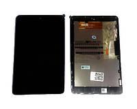 Оригинальный дисплей ASUS Google Nexus 7 ME370 черный (LCD экран, тачскрин, стекло, рамка в сборе)