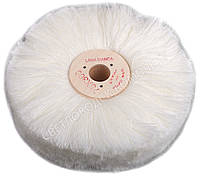 Щётка полировочная шерстяная IEXI White Wool 75x300 на СОМ, фото 1
