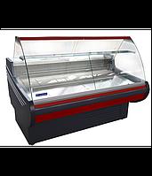 Витрина холодильная гнутое стекло UBC Muza 2.5