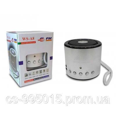 Портативная FM MP3 колонка WSTER WS-A8