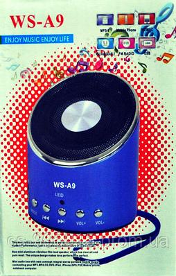 Портативная FM MP3 колонка  WSTER WS-A9