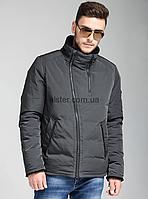 a6138fdee89 Зимняя мужская куртка Clasna CW17MD012CK Grafit