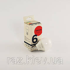 Светодиодная лампа DAYON EMT-1714 G45 6W 4100K E14