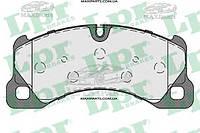 Передние тормозные колодки VW Touareg/Porsche Cayenne 2002-