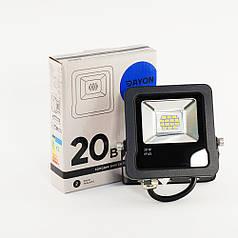 Прожектор светодиодный уличный DAYON LSR-1502 20W 6500K IP65