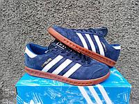Мужские кроссовки Adidas Originals Hamburg синие