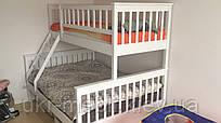 Двоярусна трьохспальної ліжко Рим з дерева