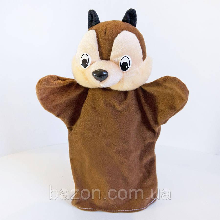 Игрушка рукавичка (кукольный театр) Бурундук