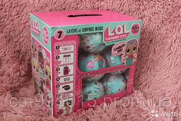 Кукла-сюрприз LOL в шарике Упаковка-6шт