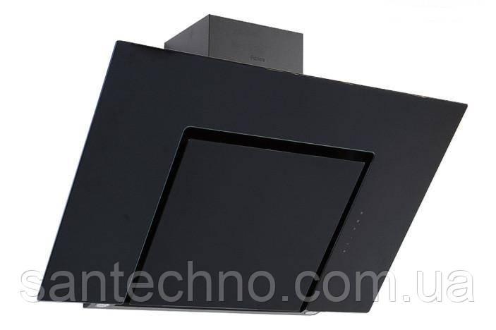 Вытяжка наклонная черная Fabiano Adria 90 Black Glass