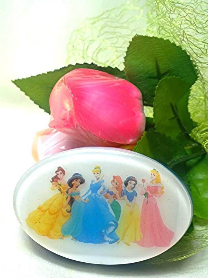 """Мыло для девочек ручной работы """"Принцессы Диснея"""""""