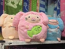 Подушка с пледом для детей