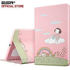 Чехол ESR PU Leather Folio Case Stand with Fashion Cute Cartoon Design and Smart Case for iPad mini 4 Girl
