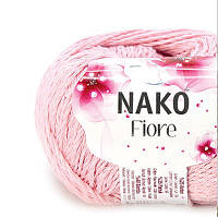Пряжа Fiore Nako розовый