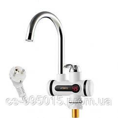 Электрический проточный водонагреватель с электронным табло №1