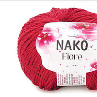 Пряжа Fiore Nako красный