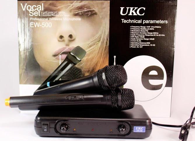 Микрофон Sennheiser UKC EW-500 2 Радиомикрофона