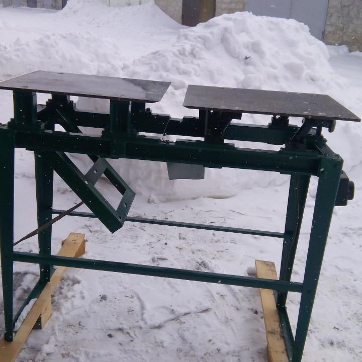 Напольная конструкция к деревообрабатывающему станку СЦФБ-1