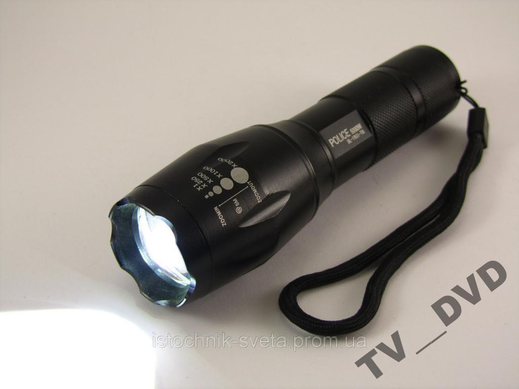 Сверхмощный фонарик POLICE BL-1831 Т6 50000W