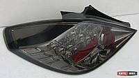 Задняя альтернативная оптика (темная) Opel Corsa D '06-14, 3дв.