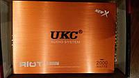 Авто Усилитель звука UKC AMP 2000 Вт 4 КАНАЛА