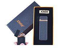 """USB зажигалка в подарочной упаковке """"Jouge"""" (Двухсторонняя спираль накаливания)"""