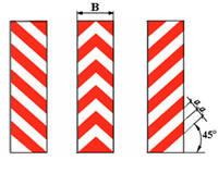 Пленка призматическая для вертикальной разметки