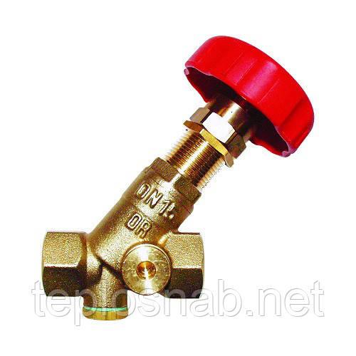 "Балансировочный вентиль HERZ STROMAX-R 4117 R 1 1/4"" DN 32  KVS 15,97"