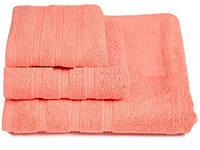Набор мягких махровых полотенец 3шт