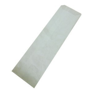 Пакет с боковой складкой для столовых приборов 19х7,2 см., 38г/м2, 2000 шт/ящ бурый крафт