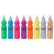 МОЛА Флуоресцентная/блестящая краска, разные цвета 70266299 IKEA, ИКЕА