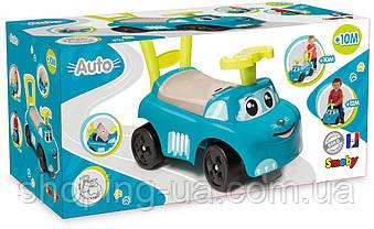 Машинка-каталка Auto Ride On голубая Smoby 720519, фото 3
