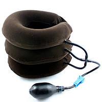 Массажер воротник для шеи Tractors for cervical spine, лечебный надувной воротник для шеи, массажер тренажер