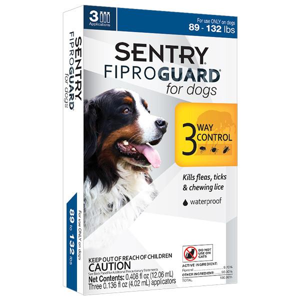 Fiproguard ФИПРОГАРД капли от блох, клещей и вшей для собак 40-60 кг, 4,02 мл
