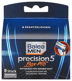 Сменные кассеты Balea Men Precision5 Flex-PRO 8шт