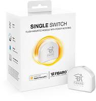 Релейный выключатель со счетчиком электроэнергии FIBARO Single Switch  для Apple HomeKit - FGBHS-213
