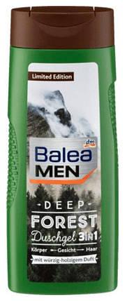 Гель для душа Balea Men Deep Forest 3 в 1 300мл, фото 2