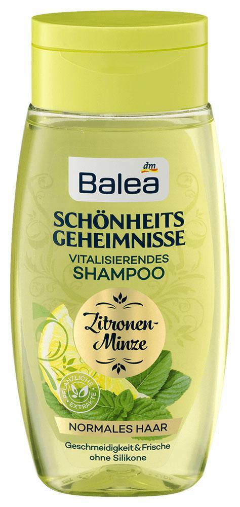 Шампунь Balea Schönheits geheimnisse мята и лимон для нормальных волос 250мл