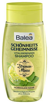 Шампунь Balea Schönheits geheimnisse мята и лимон для нормальных волос 250мл, фото 2
