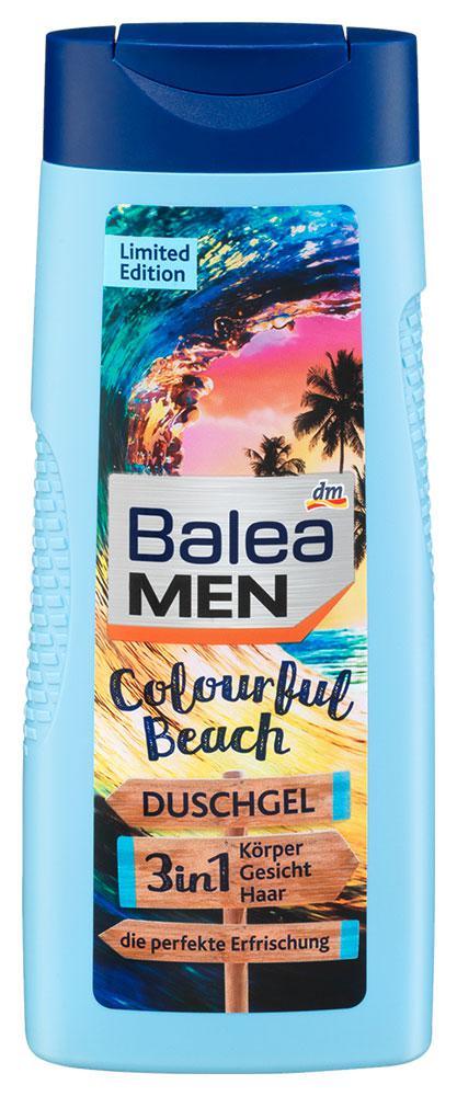 Гель для душа Balea Men Colourful Beach 3в1 300мл
