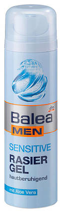 Гель для бритья Balea Men Sensitive 200мл, фото 2